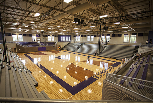Walhalla High School Gym