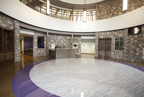 Walhalla High School Interior
