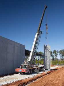 Trehel raises walls at industrial site