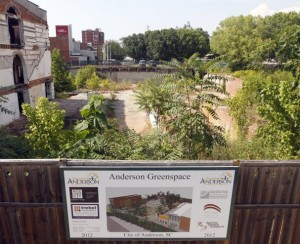 Anderson Council moves ahead with $2.7 million downtown park