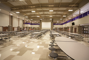 Walhalla High School Dining Hall