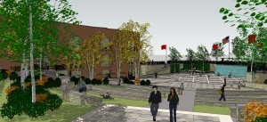 Anderson Greenspace project on schedule