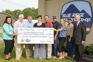 The Parenting Place-Prevent Child Abuse Pickens County Check Presentation
