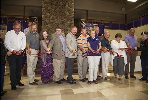 Walhalla High School Ribbon Cutting