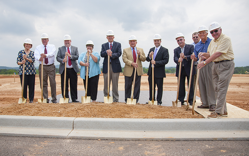 Walhalla High School groundbreaking ceremony